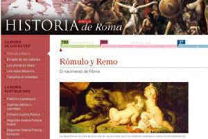 Los amantes de Roma están de enhorabuena: nace la web www.historia-roma.com