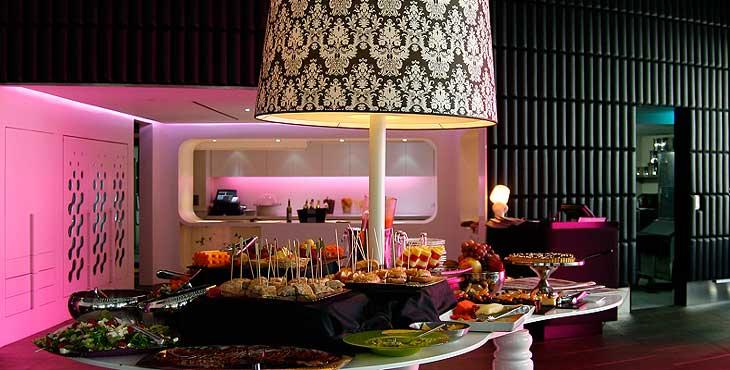 B Lounge del Hotel Barceló Raval de Barcelona