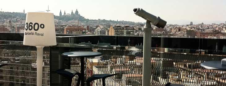 Terraza del Barceló Raval