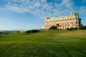 Golf en el Hotel du Palais (Biarritz)