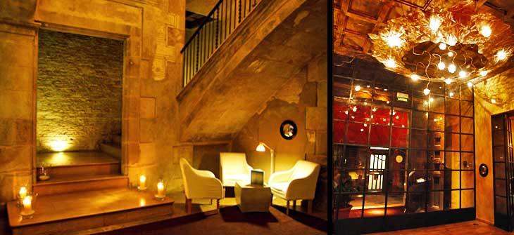 Recepción del Hotel Neri