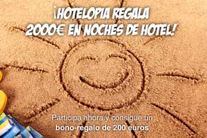 Hotelopia sortea este verano 2.000