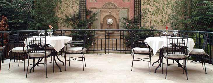 Terraza del Hotel Orfila/Foto Hotel Orfila