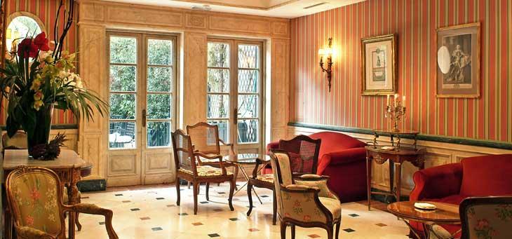 Salones del Hotel Orfila/Foto Hotel Orfila