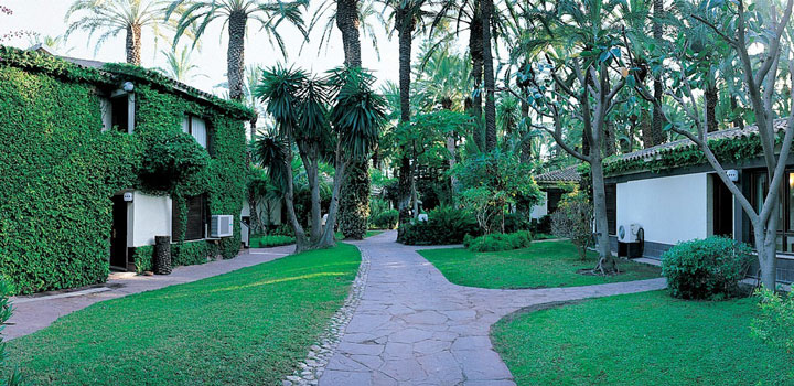 Hotel Huerto del Cura: elegancia, relax y gastronomía en Elche. Hotel en Elche.