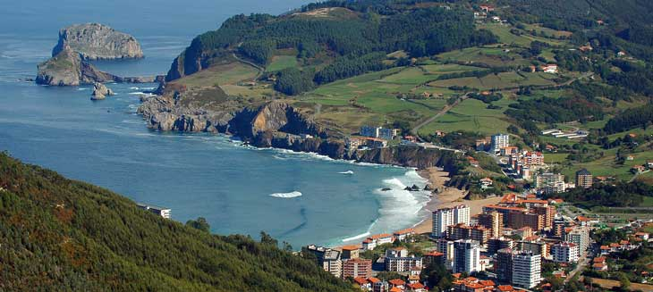 Playa de Bakio/Foto Comarca de Uribe