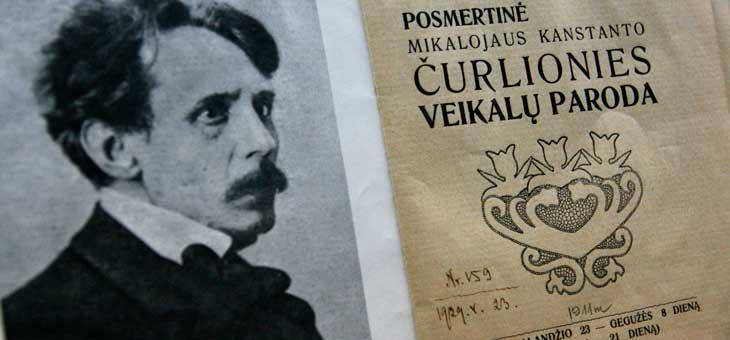 El pintor y compositor lituano M.K. Ciurlonis