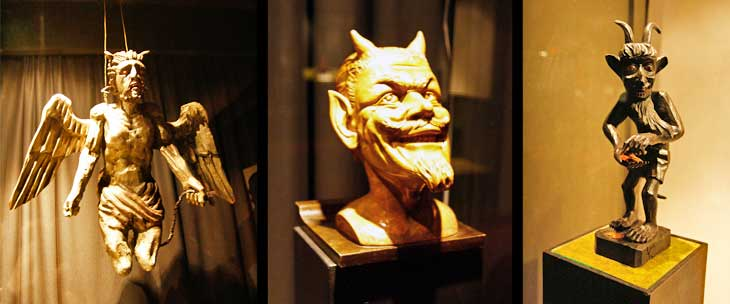 Museo de los Demonios, único en el mundo