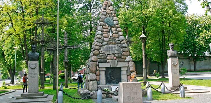 Jardines de Vytautas el Grande