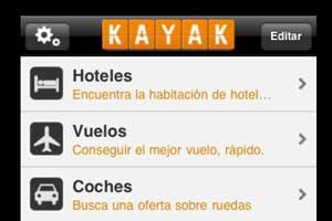 Aplicaciones para móvil de KAYAK.ES