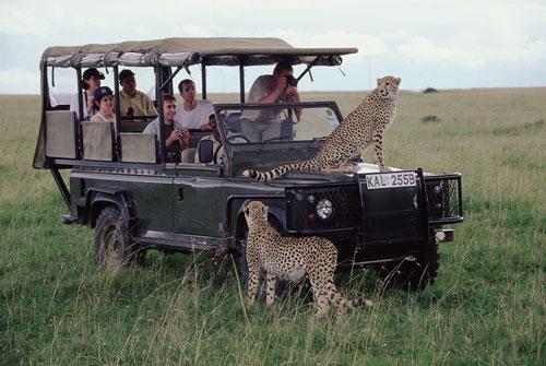 Kenia invita a la aventura