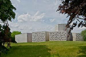 Vista exterior LAm: Philippe Ruault. © Manuelle Gautrand Architecture