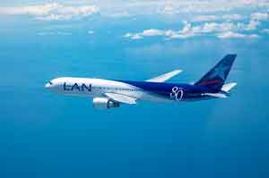 LAN informa del estado de sus operaciones a Frankfurt