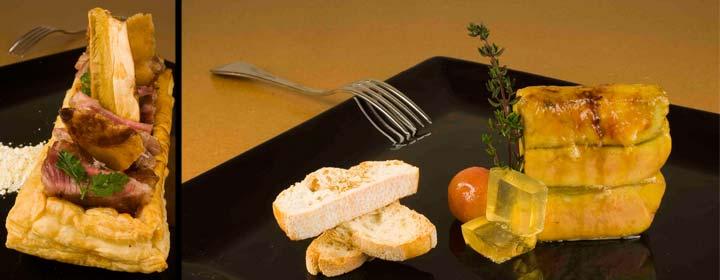Gastronomía en el Hotel Convento Las Claras