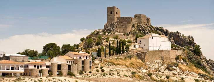 Castillo de nazarí de Luque/ Foto Mancomunidad de la Subbética