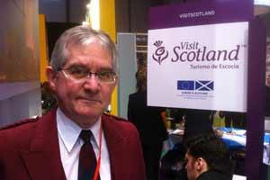 Jeremy Hawkings, director general de Luxury Scotland