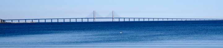 Puente de Øresund, que este año celebra su décimo aniversario.
