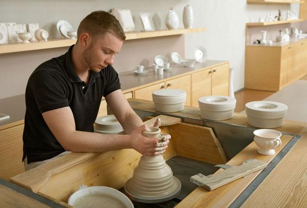 Proceso de elaboración de la porcelana de Meissen