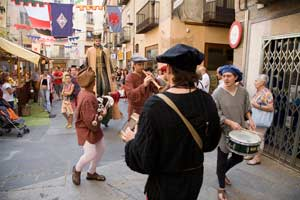 Mercadal del Conde Guifré en Ripoll, una fiesta medieval para todos los públicos
