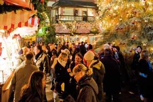 Mercado de Navidad de Leipzig