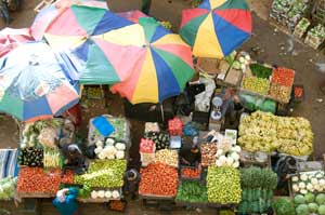 Mercado palestino