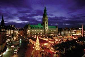 Mercado de Navidad de Hamburgo