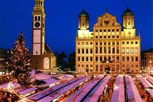 Mercado Navidad Ausburgo