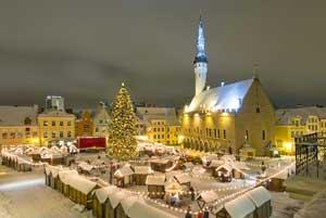 Mercado de Navidad de Tallin
