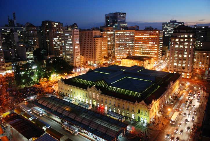 Mercado Central en Porto Alegre