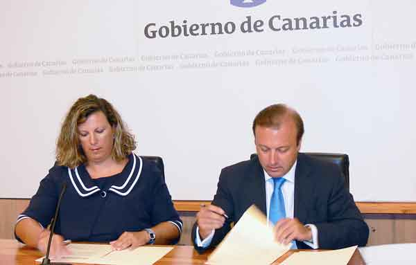 Gobierno de Canarias y la Secretaría de Estado de Turismo firman un Convenio de Promoción Turística