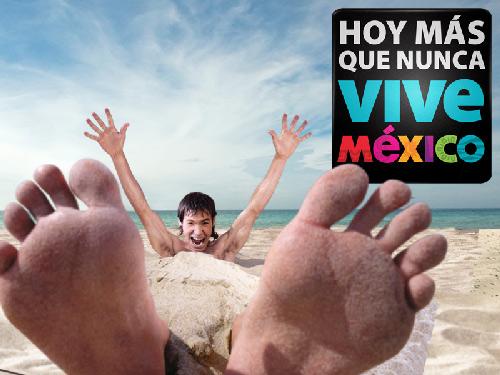 El Presidente Calderón presenta la campaña Vive México
