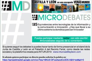 Castilla y León revoluciona INTUR 2010 con sus microdebates sobre turismo