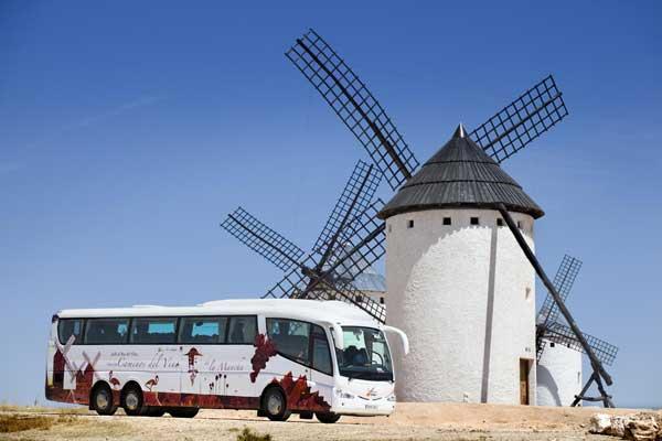 De Campo de Criptana a Alcázar de San Juan, la ruta de los molinos de la Mancha