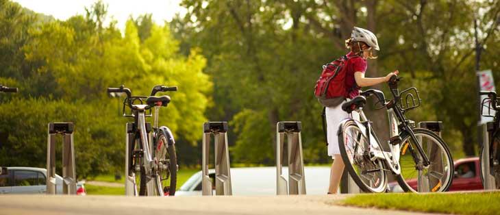 Montreal es una ciudad ideal para ir en bicicleta