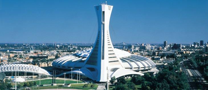 La Torre de Montreal Tower y el Parque Olímpico