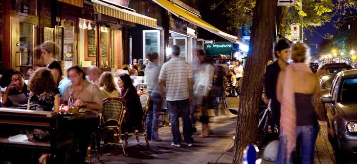 En Montreal hay infinidad de restaurantes