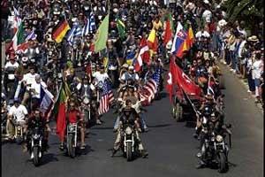 Faro alberga la 31º Concentración Internacional de Motos