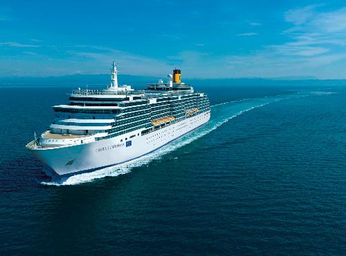 Costa Cruceros batirá un record Guinness en el bautizo del Costa Luminosa y el Costa Pacífica