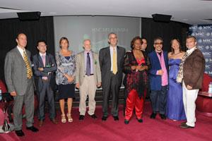 MSC Splendida acoge la inauguración de la 1ª edición de la Luxury Experience Barcelona 2010
