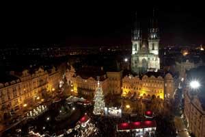 Navidad en Praga. Foto: ©  www.czechtourism.com