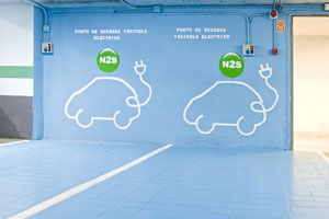 NH Hoteles amplía su red de puntos de recarga para coches eléctricos en cinco países europeos