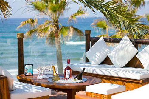 Gastronomía en Nikki Beach Marbella