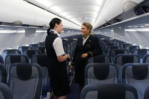 Noticias de Condor: nuevas cabinas del  A320