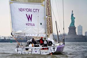 Arrancan los actos del NY-BCN Transoceanic Sailing Record con los barcos listos para zarpar