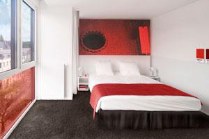 El primer hotel Pantone abre sus puertas en Bruselas