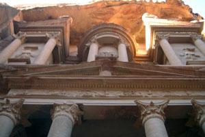 Fachada del Tesoro (Petra)