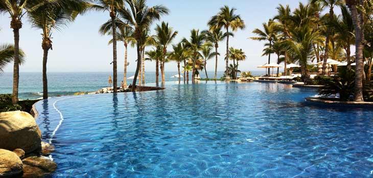 Hotel Palmilla, uno de los más lujosos de Los Cabos/Foto Juan Coma