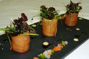 Junio, tiempo de atún y cerezas en el Restaurante Can Blau del Gran Hotel Sóller