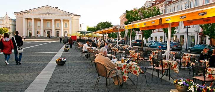 Plaza del Ayuntamiento de Vilnius
