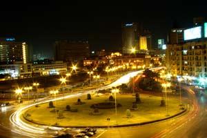 Plaza Midan Tahrirmás